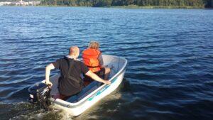 Sejltur på sø   Fonden Team Golå