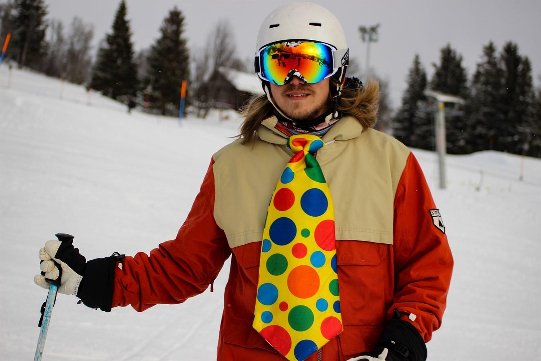 Sjov og ballade på ski   Fonden Team Golå