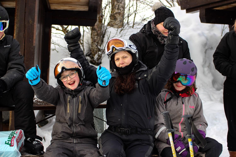 Det er fedt at stå på ski | Fonden Team Golå