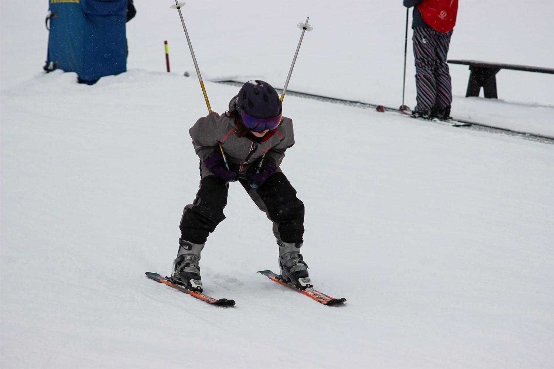 Det er sjovt at stå på ski   Fonden Team Golå