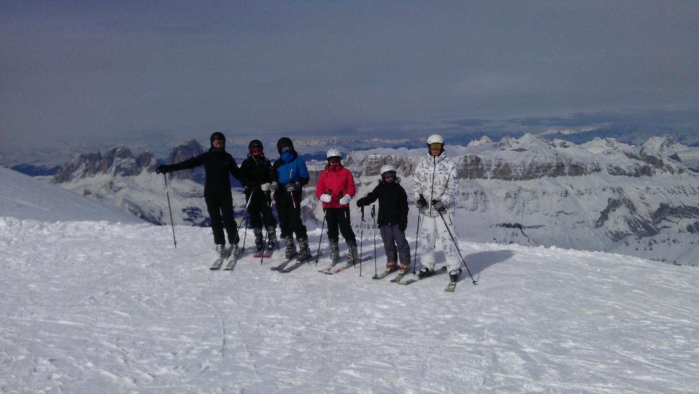 Skitur med beboerne   Fonden Team Golå