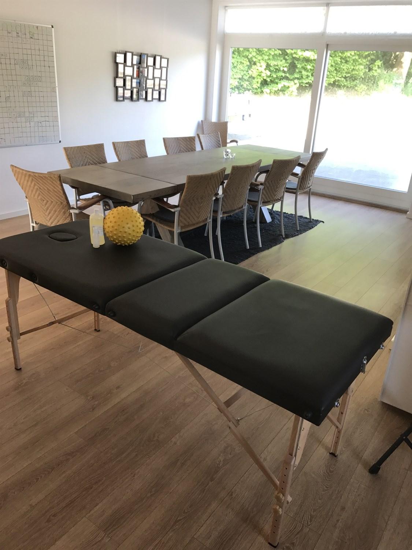 Fælleslokale med massagebriks | Fonden Team Golå