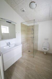 nye og renoverede badeværelse i huset   Fonden Team Golå